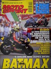 Motosprint 26 1994 Poster team Aprilia Chesterfield. Biaggi colpisce ancora