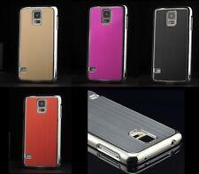 Für Samsung Galaxy S5 Bumper Schutz Hülle Hard Case Rahmen Etui Verchromt Metall