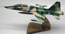 Northrop F-5B Freedom Fighter Plane Wood Model Replica SML Free Shipping