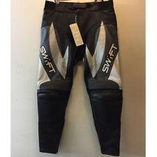 SWIFT VIPER da donna Nero GUN MOTO MOTOCICLETTA in pelle pantaloni