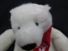 European Community 2007 Coca-Cola Company Recycled Polar Bear Plush Stuffed