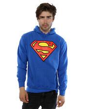 DC Comics Herren Superman Logo Kapuzenpullover