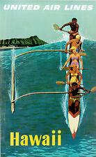 Tamaño A3/A4 - Hawaii u.a.l Vintage Viaje Decoración De Pared/Arte Cartel De Regalo # 3