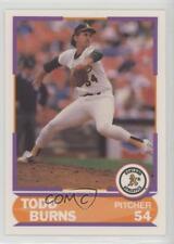 1989 Score Factory Set Young Superstars II #4 Todd Burns Oakland Athletics Card