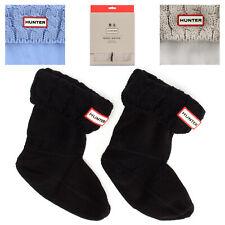 Hunter Original Six Stitch Socks Fleece Rain Boot Socks Wellies Leg Warmers Kids