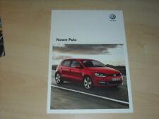 34772) VW Polo Polen Prospekt 2009