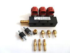 VALTEK RAIL Typ 30  3 OHM 3 ZYL. rot incl. 3 Düsen NEU