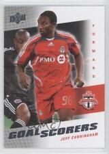 2008 Upper Deck MLS Goal Scorers #GS-28 Jeff Cunningham Toronto FC Soccer Card