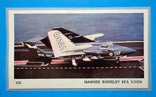 AEREI-Ed.Ediraf-Figurina/Sticker n.336-HAWKER SIDDELEY SEA VIXEN-INGHILTERRA-Rec