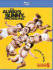 Its Always Sunny in Philadelphia Complete Fifth Season 5 Five ~ NEW BLU-RAY SET