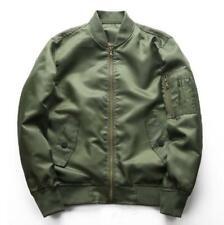 Spring Men's Jackets Slim Baseball Jacket Military flight suit thin Coat Outwear