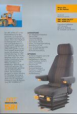 Isri 6500 KM/577 6500/577 Prospekt Baumaschinensitz 02 brochure seat constructio