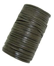Plano Decorativo Cordón de Cuero Marrón Oscuro/Cable