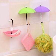 3PCS Hanger Decorative Home Organizer Wall Holder Key Hook Umbrella Design