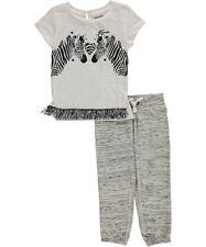 "Kensie Toddler Girls' ""Zebra Pair"" 2-Piece Outfit MSRP $30.00"