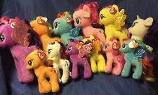 W-F-L TY   My little Pony  Auswahl 2 verschiedene Größen Pferd Stofftier  Plüsch