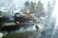 Battlefield V EA Game Poster Print T1277 |A4 A3 A2 A1 A0|