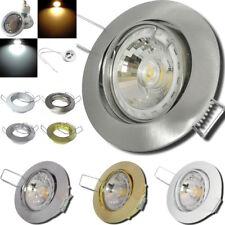 Gu10 LED Einbauleuchte / 7W=70W / LED / 220V / Druckguss / Deckenstrahler / IP20