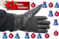 Mens Lambskin Leather Dressing Driving/Biker Winter Warm Glo 00006000 Ves All Sizes