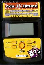RADICA ACE DEUCE RED DOG POKER ELECTRONIC HANDHELD CASINO CARD GAME TRAVEL TOY