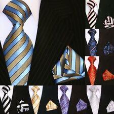 Binder de Luxe Krawatten mit Einstecktuch Krawatten Set Tie + Hanky 5002