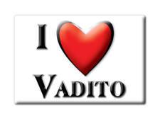 SOUVENIR USA - NEW MEXICO FRIDGE MAGNET AMERICA I LOVE VADITO (TAOS COUNTY)