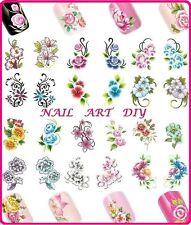 Nail Art Water Transfer Stickers-Adesivi per Unghie Naturali e Ricostruzione!!!!