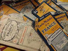 3eme annonce Cartes Routières Michelin 1920 à 1966 date détaillée Guide Rouge