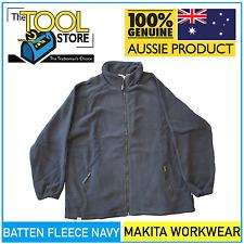 Makita Workwear Batten Fleece Navy Jumper