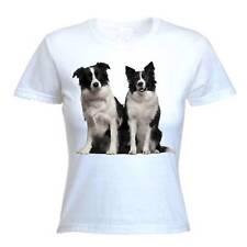 BORDER COLLIES  WOMEN'S T-SHIRT - Scottish Sheep Dog Collie Sheepdog Dogs