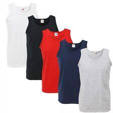 Fruit of the Loom Athletic Vest Tank Top S - XXL Shirts 2er Pack Männer Mode
