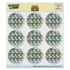 Cute Kawaii Baby Giraffes Pattern Puffy Bubble Scrapbooking Sticker Set
