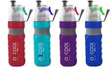 Sports Water Bottle & Refreshing Mist 24 OZ Bike Hike Jog Camp