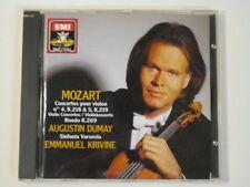 Mozart: Concertos Pour Violon Nos 4 & 5 Augustin Dumay (violin)  CDC 7 49891 2
