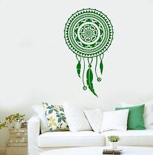 Wall Sticker Dreamcatcher Dream Catcher Feather Ornament For Bedroom (z2793)