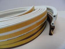 Exitex P Strip Draught Seal 5mtr Seals Gaps 3-5.5mm Fit all Windows and Doors