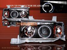2003 04 05 06 2007 SCION XB PROJECTOR HEADLIGHTS HALO BLACK LED