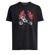 Belstaff McWilliams T-shirt officiel PM Phoenix moto Pure Off Noir