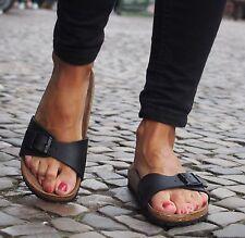Birkenstock MADRID BF black schwarz Damen Sommerschuhe Birkoflor NEU Sandale 793