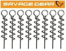 Savage Gear Corkscrew - 8 Korkschrauben für Gummiköder, Jigkopf für Kunstköder