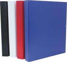 2 Ringe Präsentations-Ringbuch 40mm Füllhöhe mit Taschen A4 Standfest