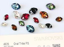 Genuine SWAROVSKI 4926 Oval Tribe Fancy Stones Crystals * Many Colors
