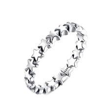 "Ring Damenring ""Sterne"" Bandring 925 Sterling Silber NEU + Mehr im Shop!"