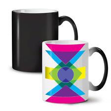 Geometric Pattern NEW Colour Changing Tea Coffee Mug 11 oz   Wellcoda