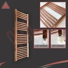 300mm(w) x 1200mm(h) Straight Copper Electric Heated Towel Rail 250/300W