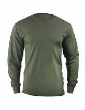 Tactical Long Sleeve Military T-Shirt Olive Drab Rothco 60118