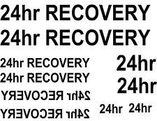 * 16 X 24hr recuperación tobogán calcomanías Elección De Colores Ideal Para Código 3s