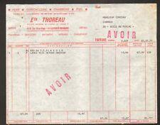 """LA FERTE-BERNARD (72) QUINCAILLERIE / CHARBON / BOIS """"Ets. THOREAU"""" en 1971"""