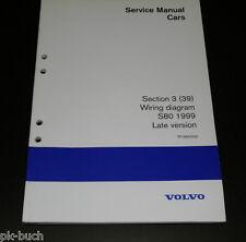 Wiring Diagrams / Schaltpläne Volvo S 80 Stand 1999 Late Version