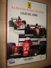 DVD LA GRANDE STORIA FERRARI N°6 I PILOTI DEL CUORE